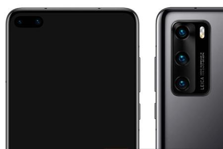 Este sería el diseño definitivo del Huawei P40
