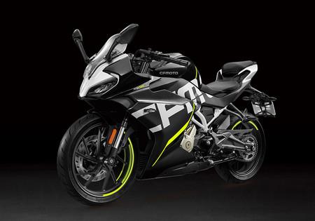 La CFMoto 300SR de 30 CV es la primera moto deportiva de la empresa china pero solo se venderá en Asia