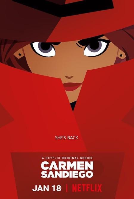 Cartel Carmen Sandiego