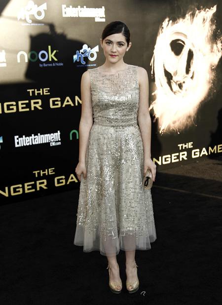 Isabelle Fuhrman Hunger-Games-Premiere