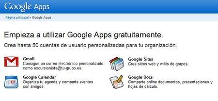 Google Apps sólo permitirá 10 usuarios en la versión gratuita a partir del próximo día 10 de Mayo