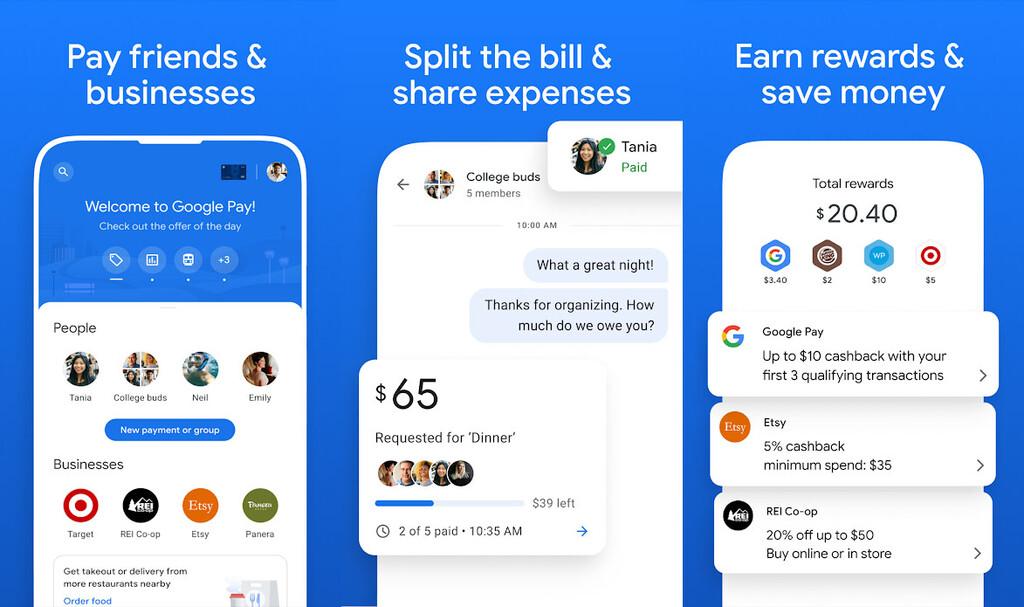 Google Pay se reinventa: estas aire las novedades que llegarán 1º a Estados Unidos