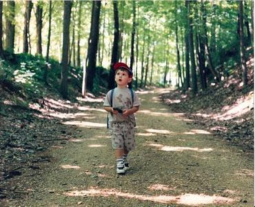 Juegos en la montaña para niños: en busca del tesoro escondido