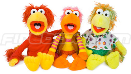 Peluches de Fraggle Rock