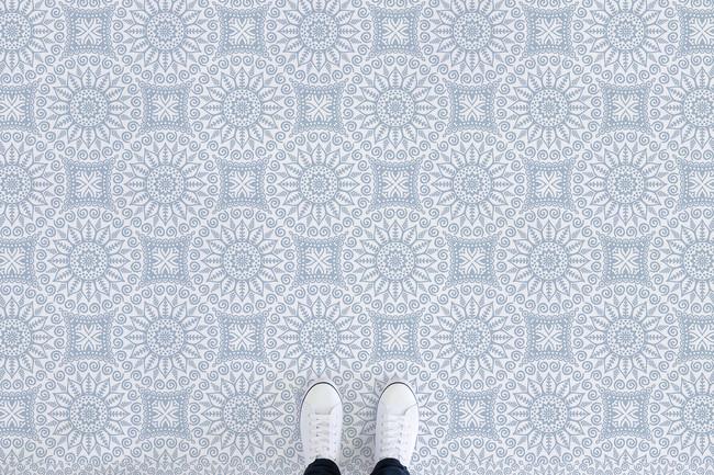 Mandalas, una tendencia al alza en decoración que es ideal para suelos