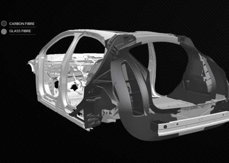 Fibra De Carbono Jaguar Land Rover