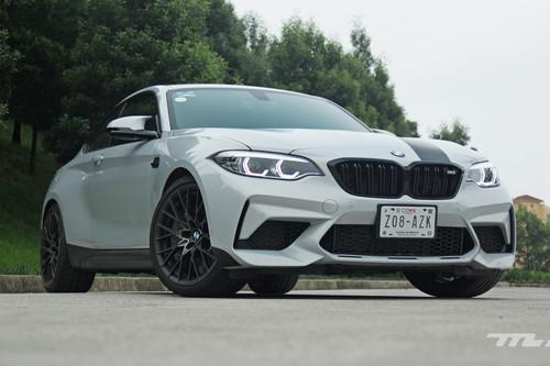 BMW M2 Competition, a prueba: Un M4 de bolsillo para quienes gozan de la conducción deportiva