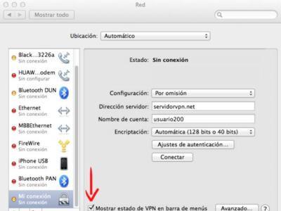 Cómo configurar una VPN en OS X Lion, especial en Xataka On