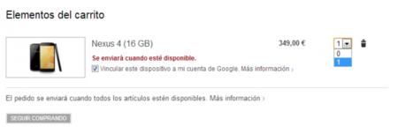 Nexus 4 limite