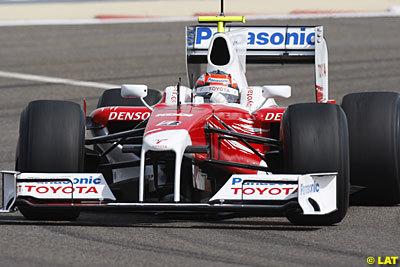 Timo Glock lidera los tiempos en Bahrein