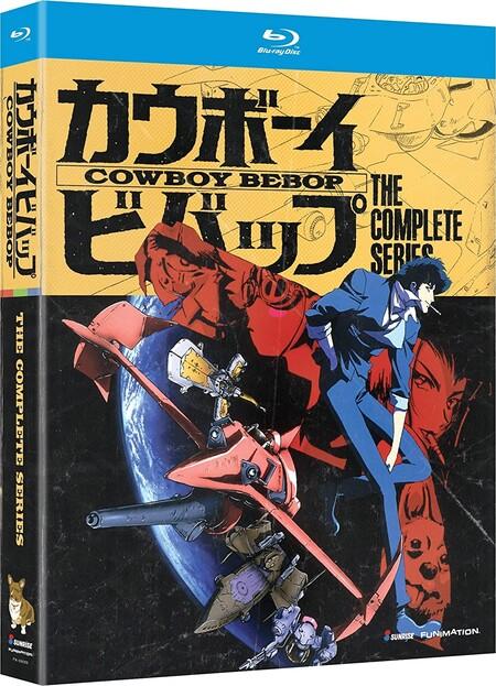 Anime Cowboy Bebop en descuento en Amazon México, blu ray