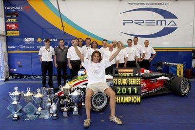 Roberto Merhi triunfa en las F3 Euro Series