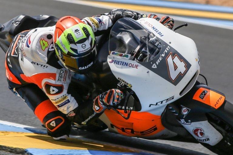 Steven Odendaal Gp Francia Moto2 2018