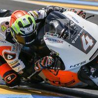 Steven Odendaal ha sido el piloto más rápido de Moto2 bajo la lluvia de Austria
