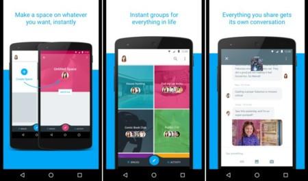 Google prueba una nueva app de mensajería instantánea llamada Spaces