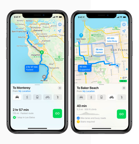 Apple Ios 14 Mapas