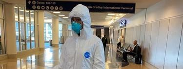 Mascarillas de logos y estrafalarios looks antipandemia: la moda encuentra en el coronavirus un foco para llamar la atención