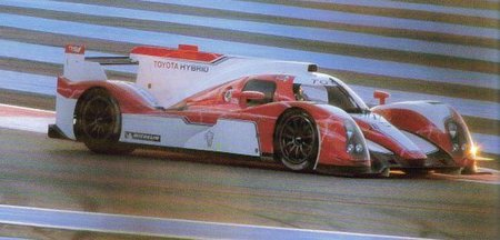 Toyota comienza las pruebas con el LMP1