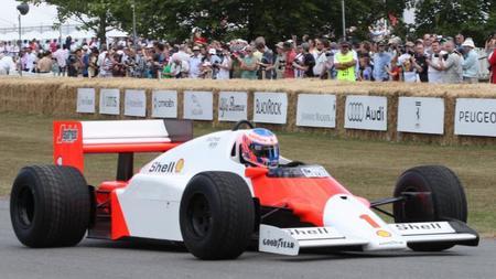 Jenson Button estará nuevamente en Goodwood