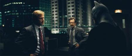Harvey Dent, Jim Gordon y Batman