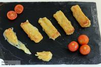 Palitos de queso fundido para las fiestas de disfraces de Carnaval. Receta