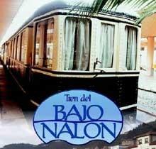 El tren turístico del bajo Nalón