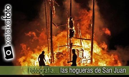 Consejos para fotografiar las hogueras de San Juan