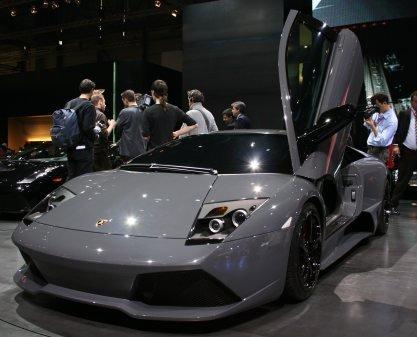 Fotos Del Lamborghini Murcielago Lp640 En Ginebra