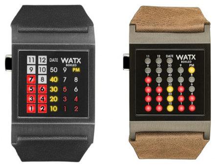 Relojes WATX, ¿qué hora leds?