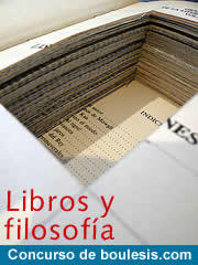 Boulesis.com lanza el concurso 'Libros y Filosofía'