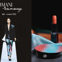 Armani Runway, el maquillaje Backstage fall/winter 2015, va a convertir el final de verano en una experiencia única