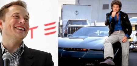 """""""KITT, te necesito"""", Elon Musk anuncia que los Tesla nos seguirán solos y se controlarán desde el móvil como un coche teledirigido"""