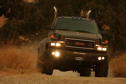 Los coches de General Motors que veremos en 'Transformers'