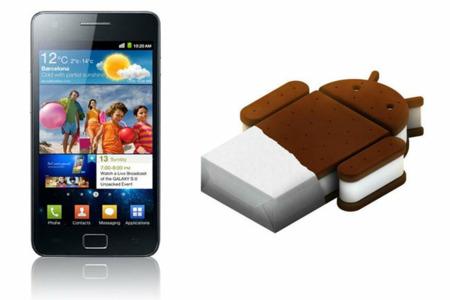 La versión libre del Samsung Galaxy SII de España se actualiza a Ice Cream Sandwich