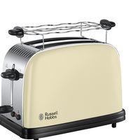Amazon ha rebajado la tostadora de acero inoxidable Russell Hobbs 23334-56 Colours Cream a sólo 29 euros con envío gratis