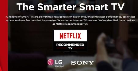 La lista de smart TV recomendadas por Netflix sigue creciendo ahora con nuevos modelos de Sony