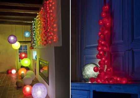 Guirnaldas de luz personalizadas de La Case de cousin Paul