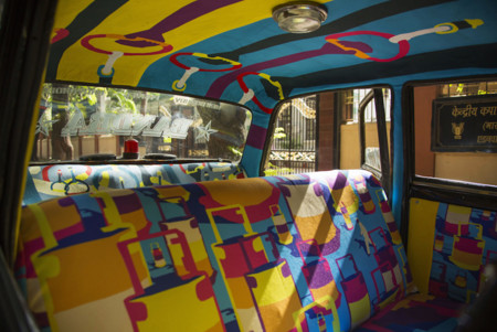 Taxi Fabric Mumbai India 26
