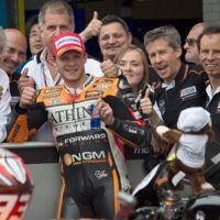 Stefan Bradl abandona el Forward Racing y será compañero de Álvaro Bautista en Aprilia