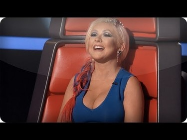 ¿Se lo pasará Shakira tan bien como Christina Aguilera en The Voice?