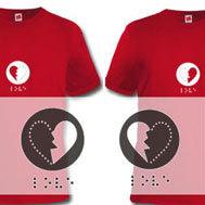 Hearthbreak shirts, camisetas para enamorados