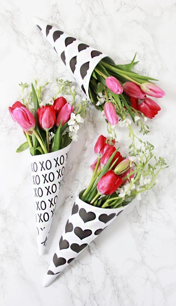 Cucuruchos Flores