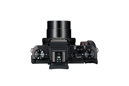 Powershot G5 X Lens Out Top