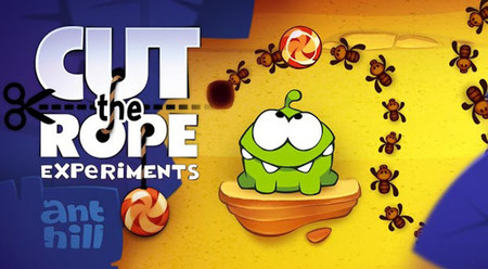 Cut the Rope Experiments aterriza hacia Windows Phone
