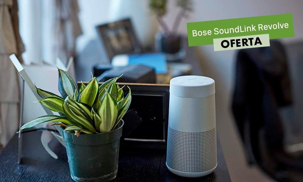 No vas a encontrar mejor precio para el altavoz Bose SoundLink Revolve que el de AliExpress Plaza con el cupón SEPTIEMBRE10: lo tienes por sólo 127 euros