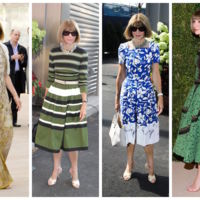 Anne Wintour Estilo