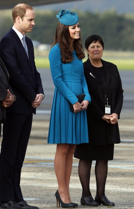 Kate Middleton en Nueva Zelanda