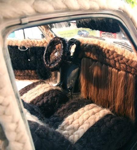 Prepara peine y champú porque este es el coche más peludo del mundo