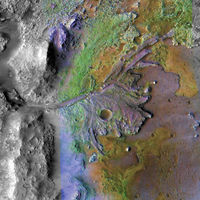 Así es el cráter de Marte elegido por la NASA y la misión Mars 2020 para iniciar la búsqueda de signos de vida
