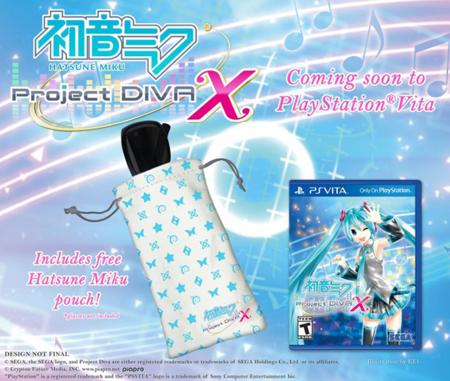 Hatsune Miku Project Diva X Psvita